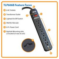 Protect It! 6-Outlet Surge Protector