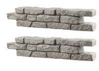 RTS Home Accents Rock Wall - 2 pack Straight