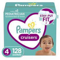 Couches Pampers Cruisers, format super économique