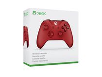 Microsoft Xbox WL3-00027 Red Wireless Controller