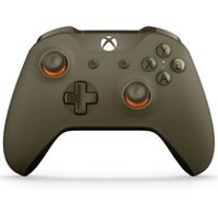 Microsoft Xbox One WL3-00035 Green/Orange Wireless Controller