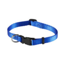 "3/8"" (9.5mm) Adjustable Dog Collar Blue"