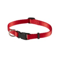 "3/8"" (9.5mm) Adjustable Dog Collar Red"