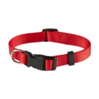 "5/8"" (16mm) Adjustable Dog Collar Red"