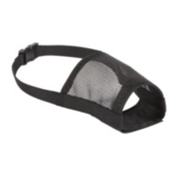 Aspen Large Black Muzzle for Dog