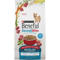 Purina® Beneful® IncrediBites® Grilled Sirloin Steak Flavour Dog Food for Small Dogs 3.2KG