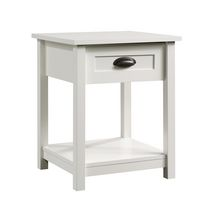 Sauder Soft White Finish Nightstand