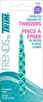 Trends by Trim Fashion Square Tip Tweezers