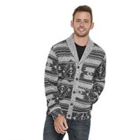 Maddins Mens Coloursure Colours Knitted Button Cardigan Navy,Green S,M,L,XL