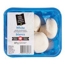 Mushrooms, Whole White, Your Fresh Market