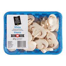 Mushrooms, White Sliced, Your Fresh Market