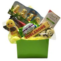 Easter chocolates candy walmart canada easter bunny gift basket negle Images