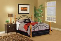 Hillsdale Winsloh Collection King Size Black Headboard