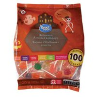 Great Value Halloween Assorted Lollipops