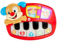 Fisher-Price Laugh and Learn Puppy's Piano Playset - English Edition