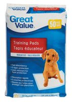 Great Value Tapis éducateur pour chiots