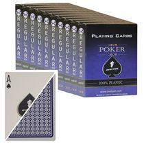Box of 10 deck of Ovalyon Playing Cards