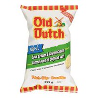 Old Dutch Rip-L Sour Cream & Green Onion Gulten Free Potato Chips