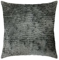 hometrends Furocious Grey Decorative Pillow