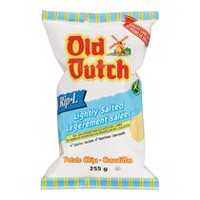 Old Dutch Rip-L Lightly Salted Gluten Free Potato Chips