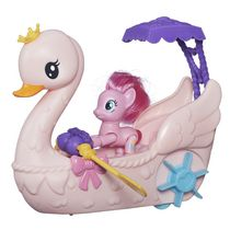 My Little Pony Friendship is Magic Pinkie Pie Row & Ride Swan Boat Set