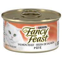 Purina(MD) Fancy Feast(MD) Paté Festin de Saumon Nourriture pour Chats