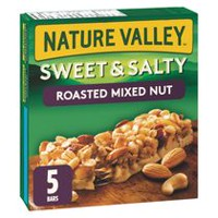 Nature Valley Sweet and Salty Roasted Mixed Chewy Nut Granola Bars
