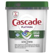 Détergent pour lave-vaisselle Cascade Platinum ActionPacs, Parfum frais