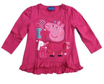 Peppa Pig Girls' Toddler Ruffle Top 2T