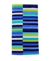 MAINSTAYS BEACH TOWEL -- Asymmetrical Cool