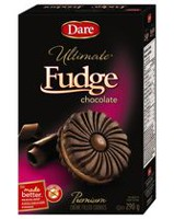 Dare Foods Ultimate Fudge Premium Chocolate Crème Filled Cookies