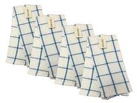 Fabstyles Waffle Kitchen Towel Blue
