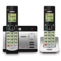 VTech CS5129-2 DECT 6.0 Expandable Cordless Phone System with 2 Handsets