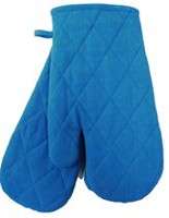 Fabstyles Oven Mitts Pair Blue