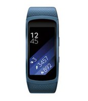 Samsung Gear Fit2 Fitness Watch Blue Large