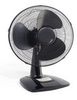 "Mainstays 12"" Oscillating Table Fan"