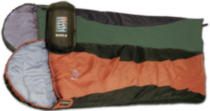 Lil Pup 200 Sleeping Bag Forest Green