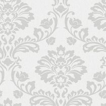 Superfresco paste the paper Aurora Wallpaper Silver