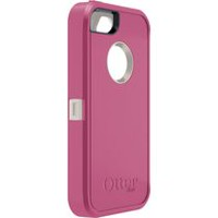 Étui Defender d'OtterBox pour iPhone 5 Rose/Blanc