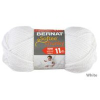 Bernat Softee Chunky Yarn White
