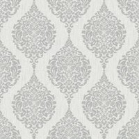 Superfresco paste the paper Luna Wallpaper Grey