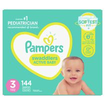 Pampers Swaddlers Diapers, Super Econo Pack