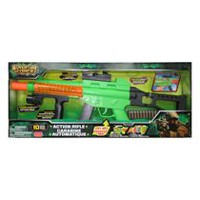 "Adventure Force 22.75"" Light, Sound, Vibration with Ejecting Shell Rifle"