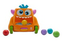 Fisher-Price Zoom 'n Crawl Monster - English Edition