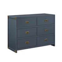 Baby Relax Miles 6 Graphite Blue Drawer Dresser