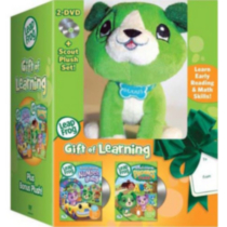 Leapfrog: Gift Of Learning - Numberland / Phonic Farm (2-DVD + Scout Plush)
