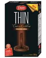 Dare Thin Chocolate Crème Cookies