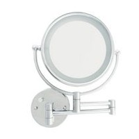 Danielle LED Wall Mount Mirror with Extension Arm