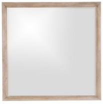 Shermag Monet Mirror - Driftwood Finish