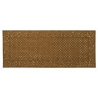 Mainstays Embossed Jarvis Mat coco 2' x 5'